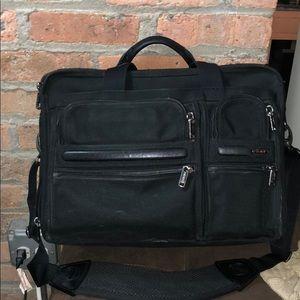 Tumi briefcase
